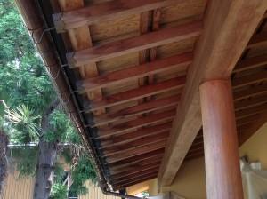 天井塗装前