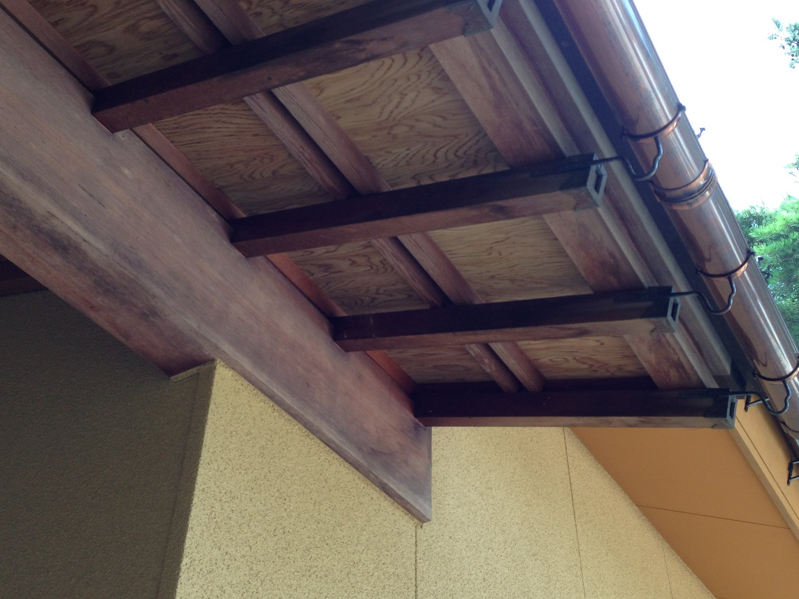 天井 塗装前