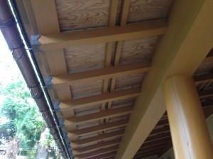 天井塗装 完了
