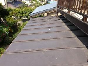 トタン屋根 塗り替え前